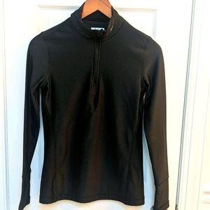 5/$25 Layer 8 Qwick-dry Black 1/4 Zip Small